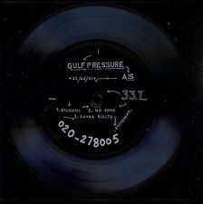7inch GULF PRESSURE balconi / NASMAK 1981 FLEXI 33 RPM POST PUNK