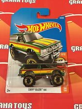 Chevy Blazer 4×4 #130 2017 Hot Wheels Case F