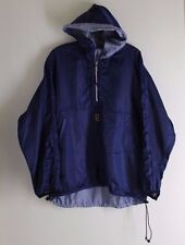 NIKE vintage 90s Navy Blue Funky Cool Windbreaker Jacket Sz M