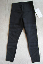 Lululemon High Times Pant Black Tech Mesh Sz 12
