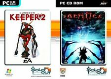 dungeon keeper 2 & sacrifice    new&sealed