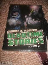 NEW! George A. Romero Presents Deadtime Stories, Volume 2 (DVD, 2011)