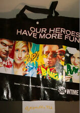NEW SHOWTIME TOTE BAG (COMIC BOOK, VINYL) (DEXTER, WEEDS, CALIFORNICATION)
