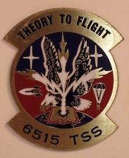 USAF 6515 Test Support Squadron Metal Enamel Emblem Decal Sticker