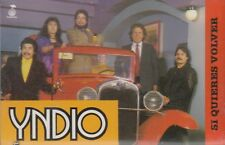 Yndio Si Quieres Volver Cassette New Sealed