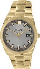 Bulova Men's Classic 97B137 Gold Stainless-Steel Analog Quartz Watch