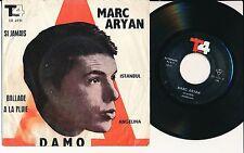 """ADAMO MARC ARYAN 45 TOURS EP 7"""" IRAN SI JAMAIS ISTANBUL"""