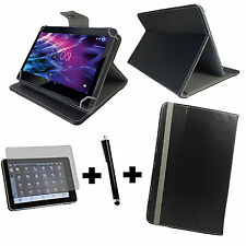 3er Set 7 zoll Tablet Tasche + Folie + Stift blackberry playbook 3in1 Schwarz 7