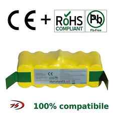 BATTERIA 4,5 AH JSD IROBOT ROOMBA 4500 AH 510 520 530 531 535 550 555 560 562PET