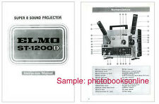 Elmo ST-1200D Sound Projector Instruction Manual