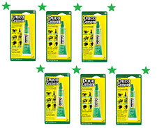 Lot/6 1oz DUCO CEMENT Multi Purpose Household Glue Clear Crafts China Wood 62435