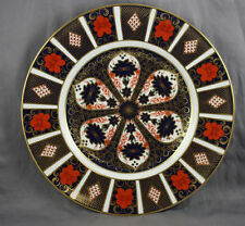 "Royal Crown Derby Old Imari 10 5/8"" Dinner Plate 1 3/4"" Border Sold Individually"