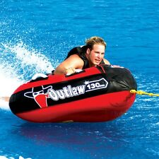 SportsStuff Outlaw Triangle 1 Rider Inflatable Water Tube Boat Towable 53-1126