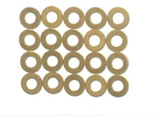 M8 (8mm) SOLID BRASS WASHER  - Pack of 20 Washers