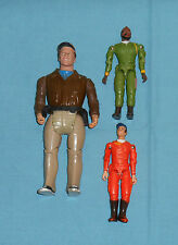 vintage THE A-TEAM action figures lot x3 Mr. T
