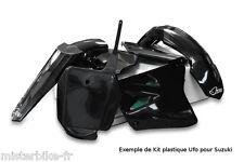Kit plastiques UFO  Suzuki RM85 2000-2015 00-15 Couleur Noir SUKIT405E001