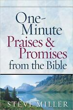 One-Minute Praises and Promises from the Bible by Steve Miller (2009, Hardcover)