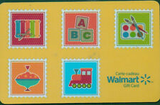 WALMART Limited Edition kids toys Gift Card 2015 New No Value BILINGUAL