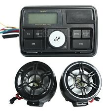 USB/SD/TF Bike bicycle Motorcycle Motor Audio System LCD MP3 Stereo Speaker New