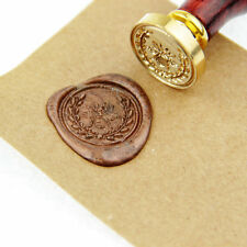 Bee Wreath Wax Seal Stamp Christmas gift wedding invitation brass stamp WS139