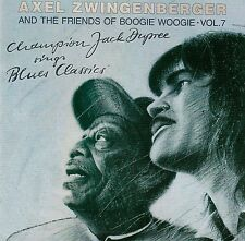 AXEL ZWINGENBERGER & FRIENDS OF BOOGIE WOOGIE 7 : CHAMPION JACK DUPREE... / CD