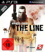 Sony PS3 Playstation 3 Spiel ***** Spec Ops: The Line ****************NEU*NEW*18