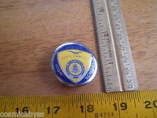 AAA 1950's Junior High School Safety Committee metal badge California