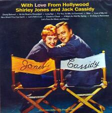 SHIRLEY JONES AND JACK CASSIDY - WITH LOVE FROM HOLLYWOOD (NEW SEALED CD)