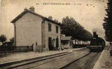 SAINT GERMAIN DU BOIS - La Gare (train)