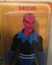 "Retro Action 8"" Sinestro Mego figure DC Universe Mattel Yellow Lantern LEGION"