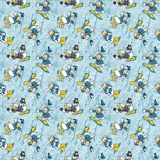 1 yard Disney  Donald Duck Allover Fabric