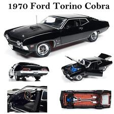 Auto World AMM1085 1970 Ford Torino Cobra Diecast Car 1:18