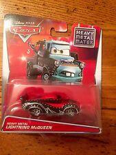 Disney Pixar Cars HEAVY METAL LIGHTNING MCQUEEN Heavy Metal Mater Series Walmart