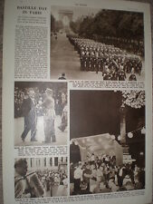 Photo article Bastille day in Paris France 1952 refO50s
