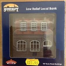 BACHMANN SCENECRAFT LOW RELIEF  BANK.  NEW, BOXED