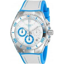 Technomarine TM-115337 Cruise Men's Blue/White Silicone Canvas 46mm Chrono