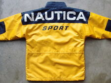 Vintage Nautica Sport Lined Jacket Size XL / 20 Youth M Colorblock Lil Yachty