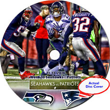 NFL 2016 11 13 Week 10 The Seattle Seahawks@ New England Patriots DVD