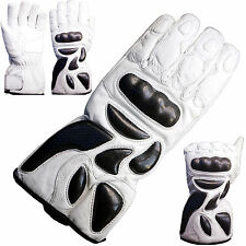 Waterproof Thermal Motorbike Motorcycle Racing Carbon Knuckle Protection Gloves