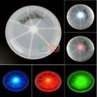 LED Light Up Flying Disk Multi Color Frisbee Outdoor Toys Camping Beach Stable