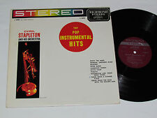 CYRIL STAPLETON AND HIS ORCHESTRA Top Pop Insutrmental Hits LP Trumpet Horn Jazz