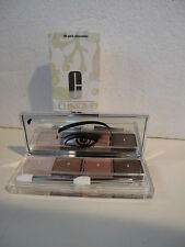 CLINIQUE - ALL ABOUT SHADOW QUAD - ombre a poupieres 4  n° 06 pink chocolate