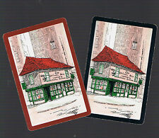 """Playing Swap Cards  2   VINT   """"THE  OLD  CURIOSITY  SHOP  """"N34  PAIR"""