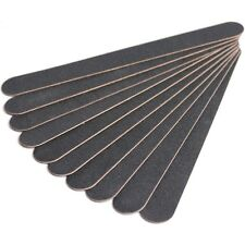 """""""BLACK BEAUTY"""" 100/180 Grit TOP QUALITY DURABLE Black EMERY BOARDS - 50 PACK"""