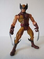Marvel Legends Series 6 brown suit Wolverine 6 inch action figure