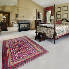 hand knotted persian kilim rug, Red and Brown color Code: S0101124