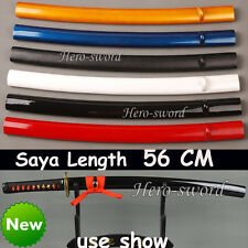 Japanese Samurai Katana saya Hard wood Sheaths 56cm sword scabbard wakizashi use