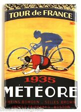 Tour de France 1935 FRIDGE MAGNET (2 x 3 inches) bicycle poster bicycling bike