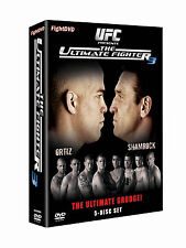 NEW UFC Ultimate Fighter Season 3 DVD 5 (Discs) Ortiz v Shamrock Michael Bisping
