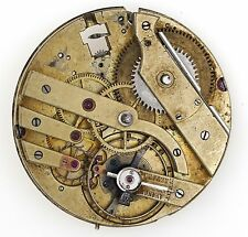 SWISS LEVER CHRONOMETER HIGH GRADE POCKET WATCH MOVEMENT NO 159 SPARES R75